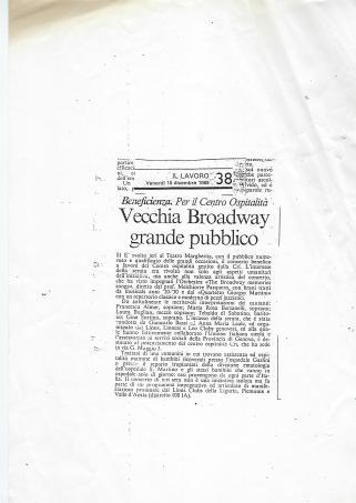 1989 Articolo Jazz Genova