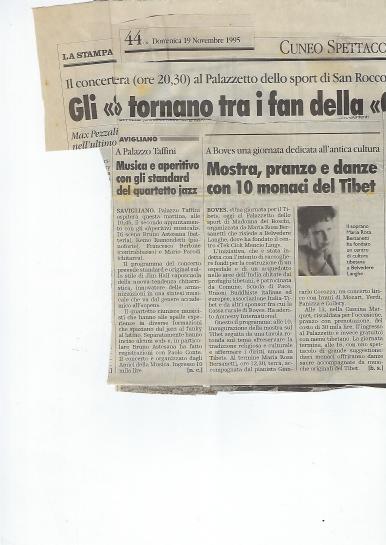 1995 articolo Boves tibet