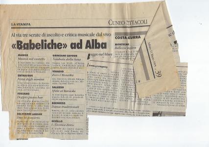 1995 articolo concerto
