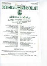 1995 programma orchestra alessandro scarlatti Napoli