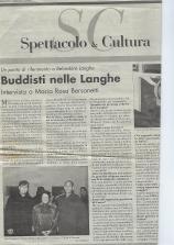 1996 articolo centro budhista