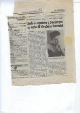 1998 articolo concerto Sapeyre orchestra