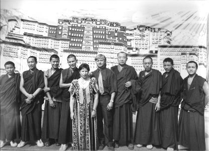 6 monaci con sindaco spettacolo 2