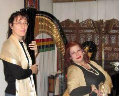soprano con arpa
